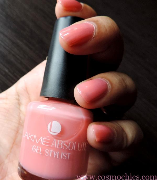 Gel Nail Polish Lakme: Currently On My Nails Lakme Absolute Gel Stylist Nail