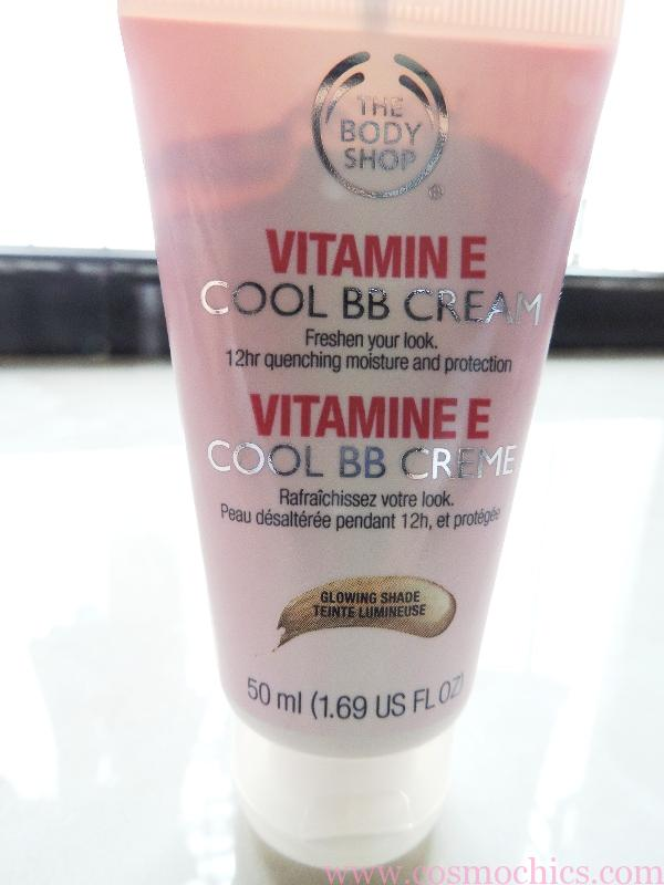 The body shop vitamin e cool bb cream review swatches for Bb shopping it