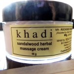 Khadi Sandalwood Age Control Cream: Review & Swatch