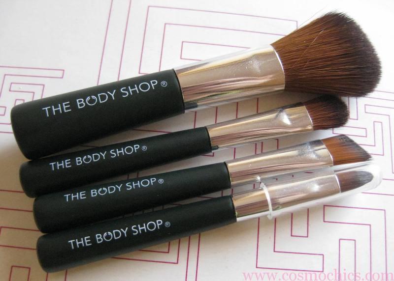 The Body Shop Mini Brush Kit Review