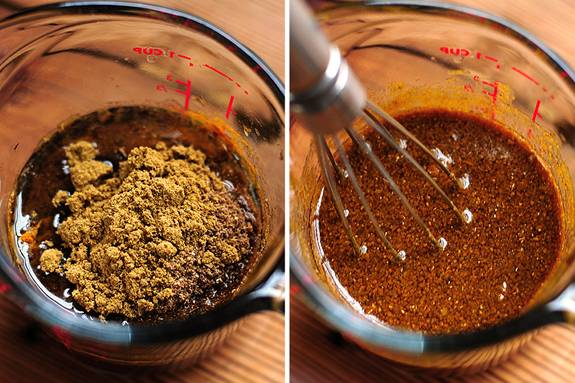 Method: 1) To make Satay: Whisk together soy sauce and turmeric in ...