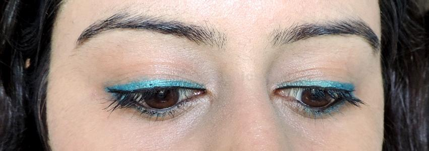 DSCN5161 Maybellines  New The Colossal Kohl Turquoise: Review, Swatches, FOTD!!!