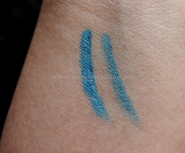 DSCN5628 Maybellines  New The Colossal Kohl Turquoise: Review, Swatches, FOTD!!!