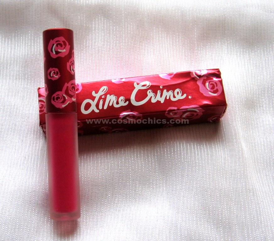 IMG 0712 Lime Crime Velvetines   Pink Velvet: Review, Swatches & FOTD!