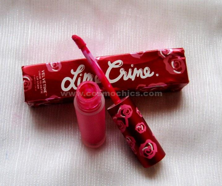 IMG 0718 Lime Crime Velvetines   Pink Velvet: Review, Swatches & FOTD!