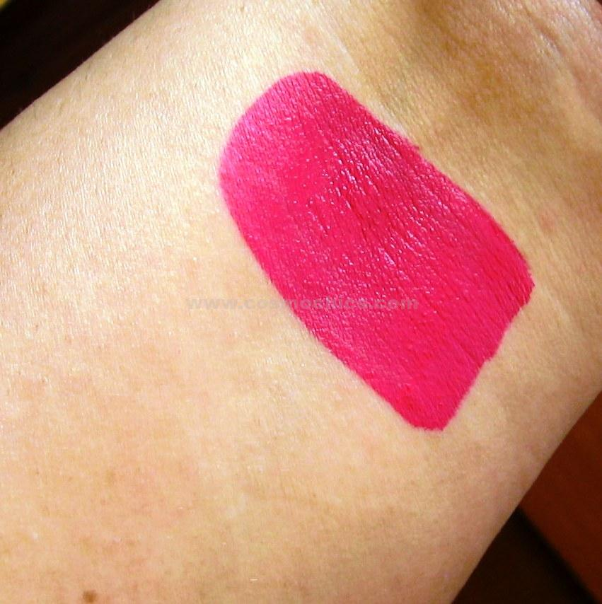 IMG 0729 Lime Crime Velvetines   Pink Velvet: Review, Swatches & FOTD!