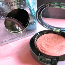 MAC Alluring Aquatic Collection blush Seduced at Sea swatch