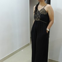 Wide Leg Jumpsuit Outfit Of The Day!