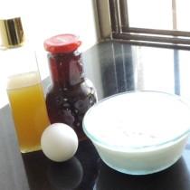 egg mask ingredients