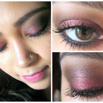 Marsala eye makeup tutorial