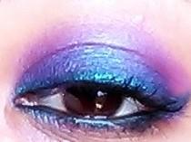 blue-pink smokey eyes tutorial