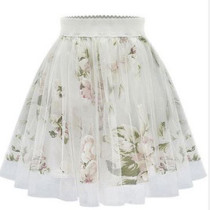 Floral Flaired Skirt