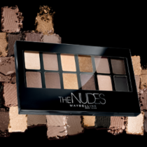 maybelline the nudes eyeshadow review