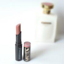 la girl matte flat velvet lipstick review