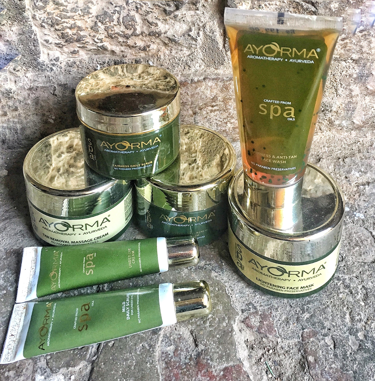 Spa Skin Care: Ayorma Spa Oils Skin Care Range Review